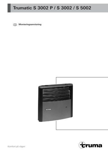 trumatic c 3402 c 6002 alde. Black Bedroom Furniture Sets. Home Design Ideas