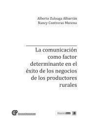 La comunicación como factor determinante en el éxito - Territorios ...