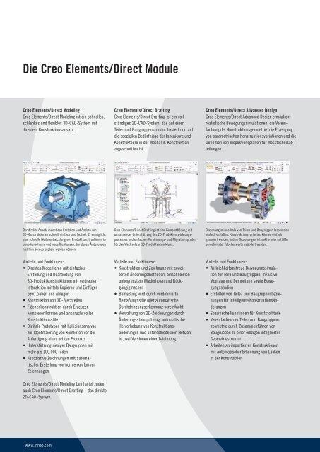 Creo Elements/Direct Paketübersicht - Inneo