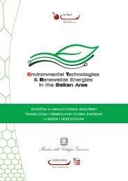 izvještaj o analizi stanja okolišnih tehnologija i obnovljivih ... - REZ