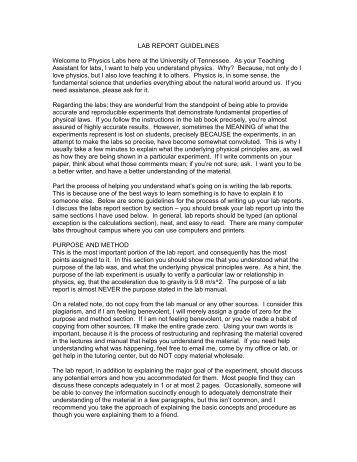 Physics essay format help