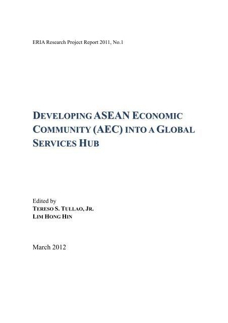 ASEAN E (AEC) - ERIA