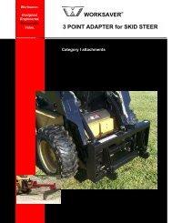 Worksaver Skid Steer.. - Edney Distributing Co. Inc.