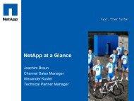 NetApp at a Glance - Inneo