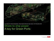 Shore to ship power A key for Green Ports - Circuito Green City Energy