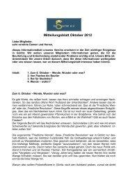 Mitteilungsblatt des zur Sache! e.V. Oktober 2012 - Görlitzer-Anzeiger