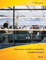 Kosten sparen mit Hilfe von SharePoint 5 bewährte Szenarien - Inneo