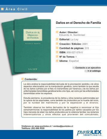 Daños en el Derecho de Familia Área Civil