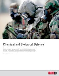Chemical and Biological Defense - Draper Laboratory