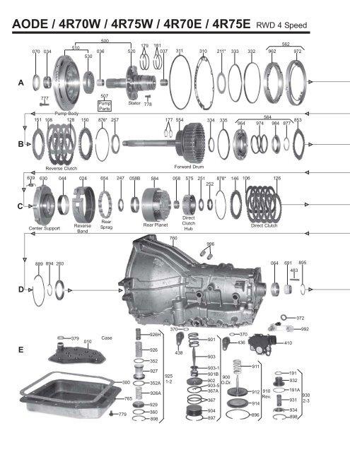 4r75w exploded diagram wiring diagram 4r70w wiring- diagram 4r75w exploded diagram #2