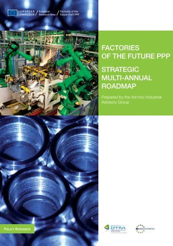 factories of the future ppp strategic multi-annual roadmap - First