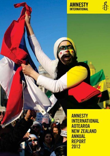 to read the 2012 Annual Report - Amnesty International