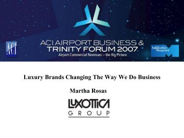 Luxury Brands Changing The Way We Do Business Martha ... - ACI