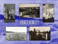 Mikä Terijoki oli ja missä se sijaitsi?