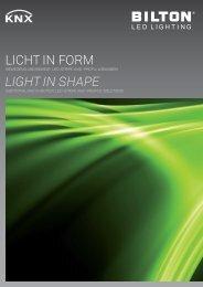 licht in ForM Light in shape