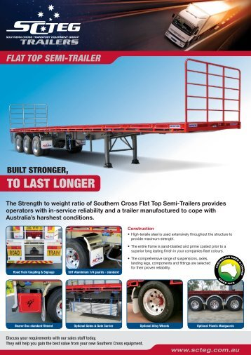 Flat Top - Southern Cross Transport Equipment Group