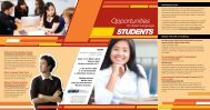 Opportunities for Students - Association of Independent Schools of ...