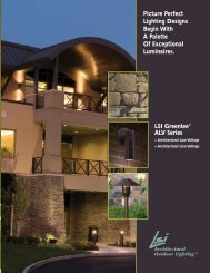 Picture Perfect Lighting Designs Begin With A ... - LSI Industries Inc.