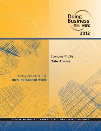 doing business - Abidjan.net