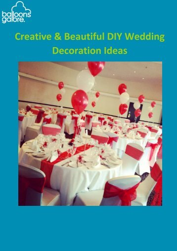 DIY Wedding Decoration Ideas Guide