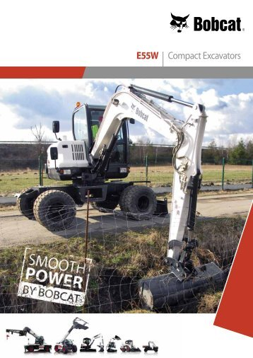 E55W | Compact Excavators - Bobcat.eu