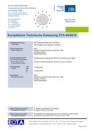 ETA-99/0010 - MKT Metall-Kunststoff-Technik GmbH & Co. KG