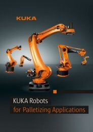 KUKA Robots for Palletizing Applications - KUKA Robotics