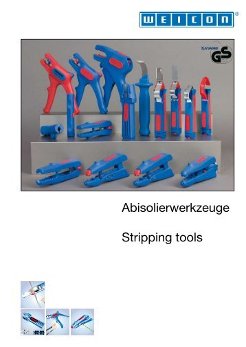 Stripping Tools - Weicon.com