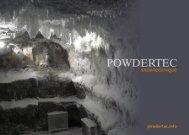 PowderTec Snowsystems - Booklet - innovag.de