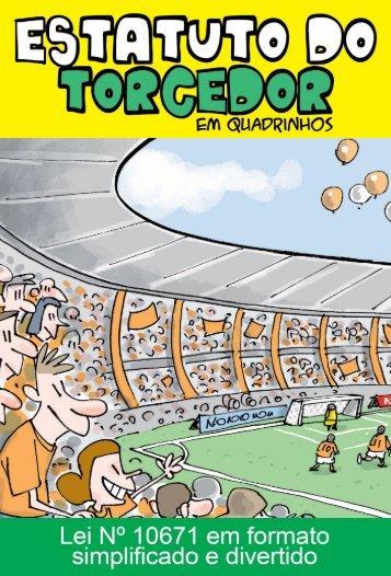 Cartilha Estatuto do Torcedor - Ministério do Esporte