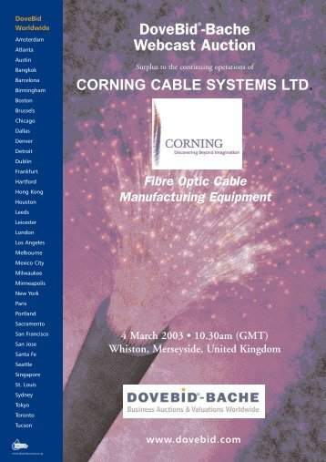 Corning Virtual Brochure