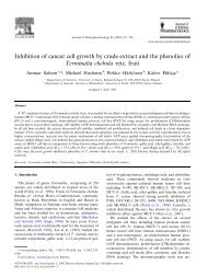 Inhibition of cancer cell growth by crude extract and ... - ResearchGate