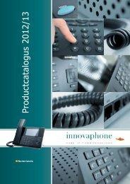 Product Catalogus 2012/2013 - Innovaphone