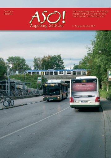ASO! AUGSBURG SÜD-OST - Oktober 2014