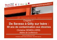 De Seveso à Gilly sur Isère : - Université Virtuelle Paris 5