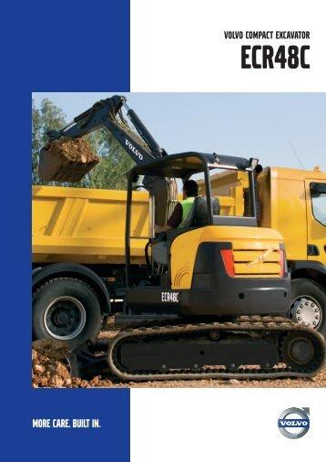 Brochure ECR48C (PDF, 1.3 MB) - Volvo Construction Equipment