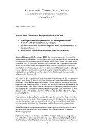 vollständige Pressemitteilung als .pdf lesen - bei Mönning und ...
