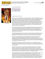Vida de médicos - ++VITAE Academia Biómedica Digital ...