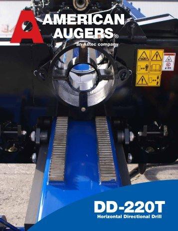 Equipment Literature - American Augers, Inc.