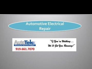 Automotive Electrical Repair