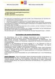 Baustein 3 - Institut Systeme