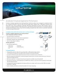 Accelerate Virtualized Application Performance