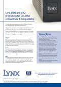 Lynx Tape Drive Family - Lynx Technologies - Page 4