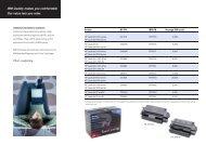 IBM replacement cartridges for HP LaserJet printers flyer - Azerty.com
