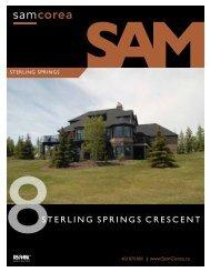 8STERLING SPRINGS CRESCENT - Sam Corea