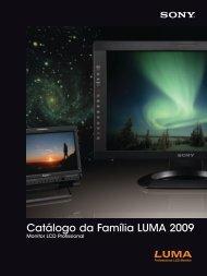 Catálogo da Família LUMA 2009 - Sony
