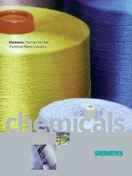 Chemical Fibers Solutions - Siemens Industry, Inc.