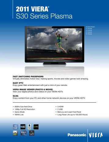 panasonic viera instruction manual pdf
