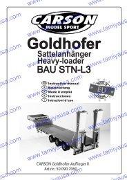 907060 Goldhofer Neu - Tamiya