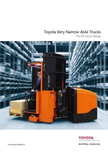 BT Vector brochure - Toyota Material Handling Europe